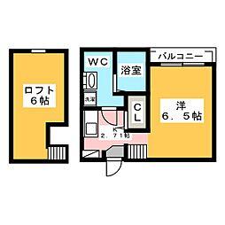 Green HIlls Kitayama[1階]の間取り