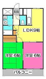 ラベンターナ[3階]の間取り