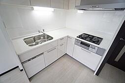 システムキッチン交換済、シャワー切り替え蛇口付、綺麗なキッチンです。