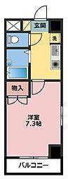 マモール川崎II[6階]の間取り