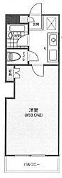 神奈川県横浜市港北区大倉山4の賃貸マンションの間取り