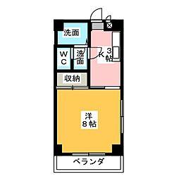 第二末廣ビル[5階]の間取り