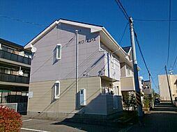 新潟県新潟市中央区女池3丁目の賃貸アパートの外観