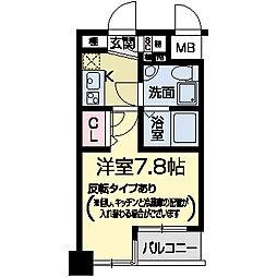 セレニテ甲子園II[0101号室]の間取り