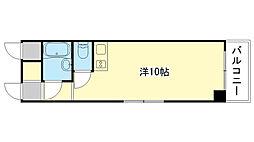 カーサ甲子園[2階]の間取り