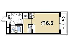 ロイヤル静和[3階]の間取り