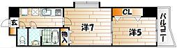 門司港レトロプリンセス[5階]の間取り