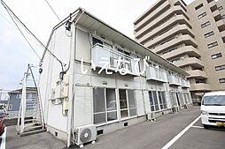 岡山県岡山市南区豊成1丁目の賃貸アパートの外観