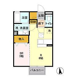 IZUMI[1階]の間取り