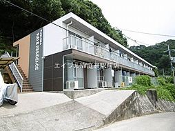 岡山県岡山市北区津島笹が瀬の賃貸アパートの外観