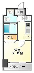 T's square江坂[5階]の間取り