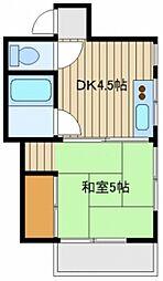 平泉アパート[3階]の間取り