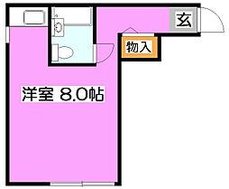 ニューホワイトマンション[2階]の間取り