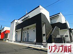 千葉県千葉市中央区道場北2丁目の賃貸アパートの外観