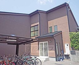 京都府京都市上京区菱丸町の賃貸アパートの外観