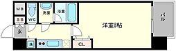 アドバンス大阪城ラディア[4階]の間取り