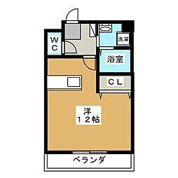 ポラリス[2階]の間取り