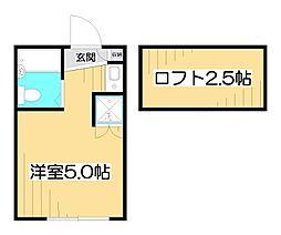 ダイヤモンドダストIII[1階]の間取り