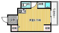 旭ヶ丘AIIevo[2階]の間取り