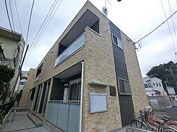 千葉県成田市上町の賃貸アパートの外観
