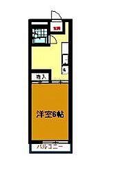 パークハイツ湘南台I[106号室]の間取り