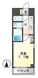 アセーラ新栄[5階]の間取り