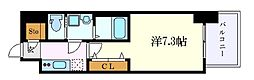 S-RESIDENCE名駅南 5階1Kの間取り