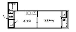 エクトI[5階]の間取り