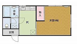 千葉県浦安市海楽2丁目の賃貸アパートの間取り