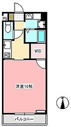 ターナラフィネ[1階]の間取り