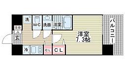 W-STYLE神戸II[603号室]の間取り