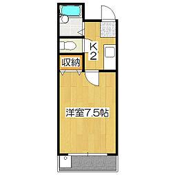 エトワール桃山(京町)[2階]の間取り