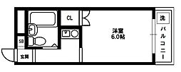 リージェントハイム[3階]の間取り