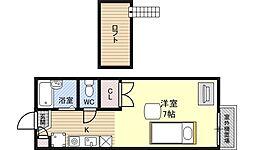 レオパレスNODA[2階]の間取り