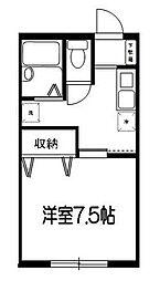 サザンコート1[1階]の間取り