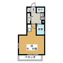 ジオコート大和[2階]の間取り