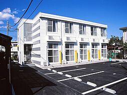 神奈川県大和市西鶴間3丁目の賃貸アパートの外観