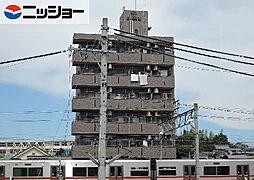 パレスヤマハン[1階]の外観