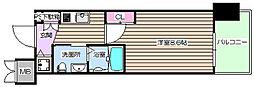 エステムプラザ梅田・中崎町IIIツインマークスノースレジデンス[2階]の間取り