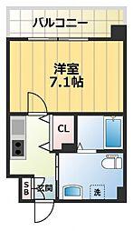 JPレジデンス大阪城東II[7階]の間取り
