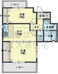 ブロードエトワール[8階]の間取り