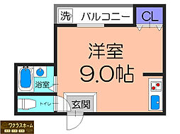 大阪府堺市堺区南花田口町1丁の賃貸マンションの間取り