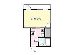 コーポ細田[3階]の間取り