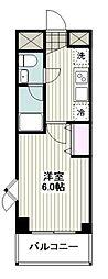 湘南モノレール 湘南深沢駅 徒歩7分の賃貸アパート 2階1Kの間取り