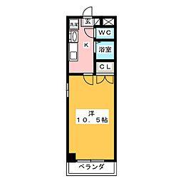 プログレッソ岩塚[7階]の間取り