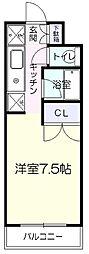 メゾン・ド・スイーム[3階]の間取り
