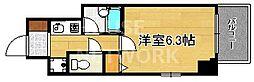 ベラジオ四条堀川[201号室号室]の間取り