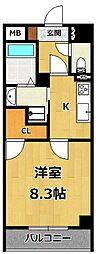仮称)LOCUS1 南武庫之荘1丁目新築[3階]の間取り