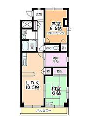 タトヨビル[8階]の間取り