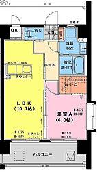 (仮称)神宮東1丁目マンション[205号室]の間取り